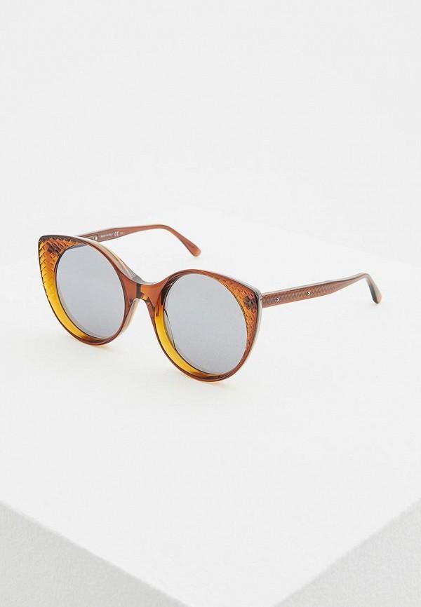 цена на Очки солнцезащитные Bottega Veneta Bottega Veneta BO982DWZHN57