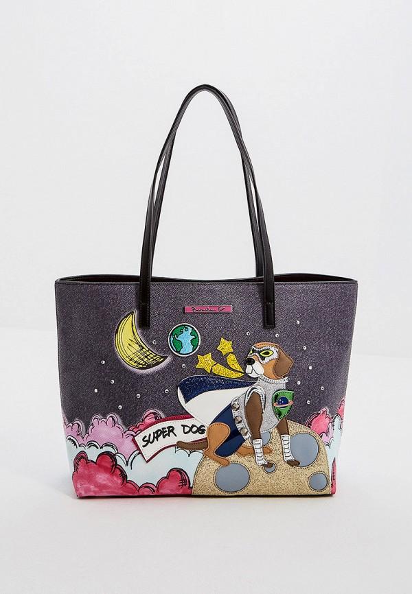 женская сумка braccialini, синяя
