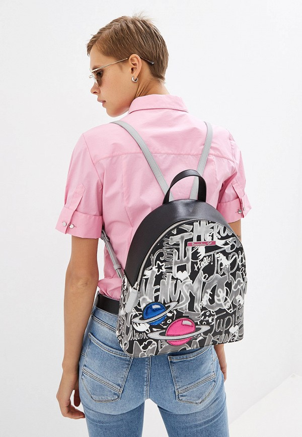 Фото 7 - женский рюкзак Braccialini разноцветного цвета