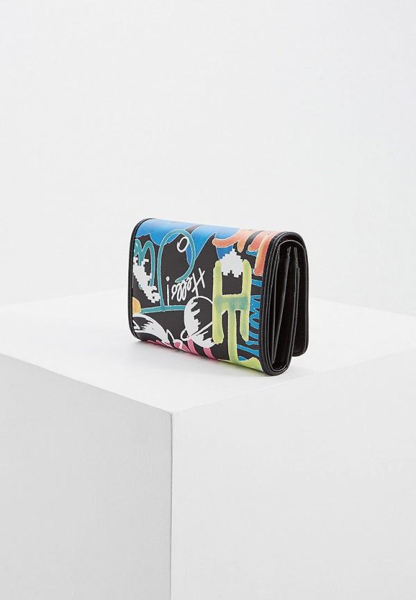 Фото 2 - женский кошелек или портмоне Braccialini черного цвета