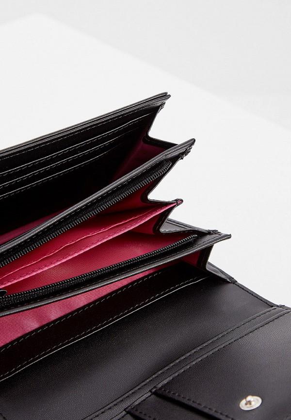 Фото 5 - женский кошелек или портмоне Braccialini черного цвета