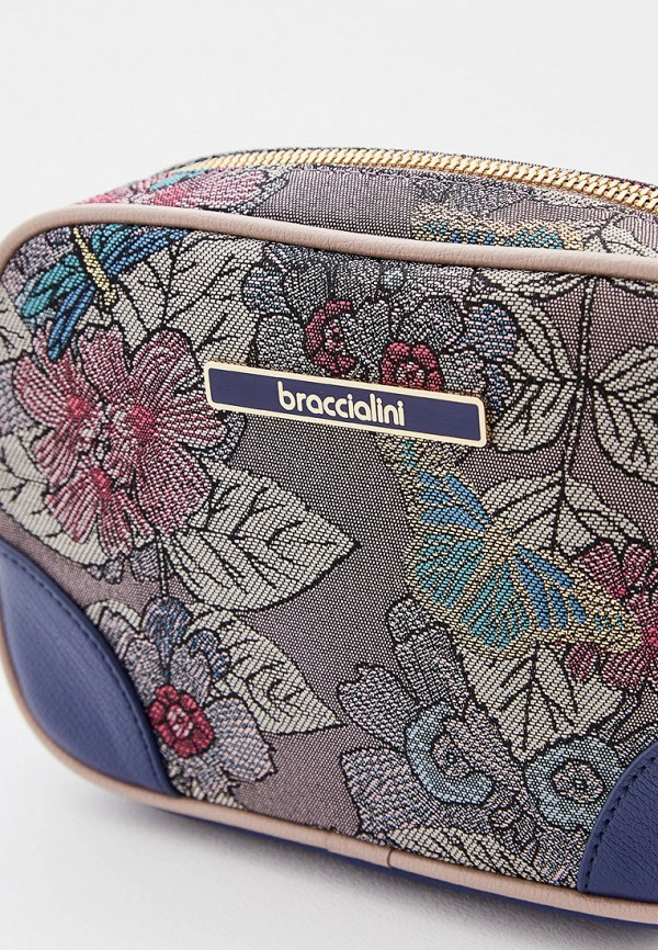 Фото 3 - Сумку поясная Braccialini фиолетового цвета