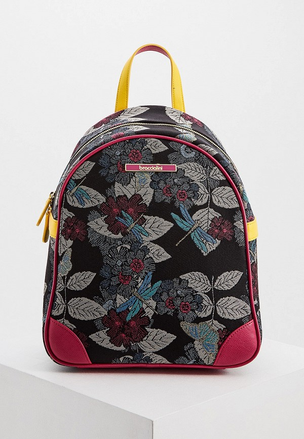 женский рюкзак braccialini, черный