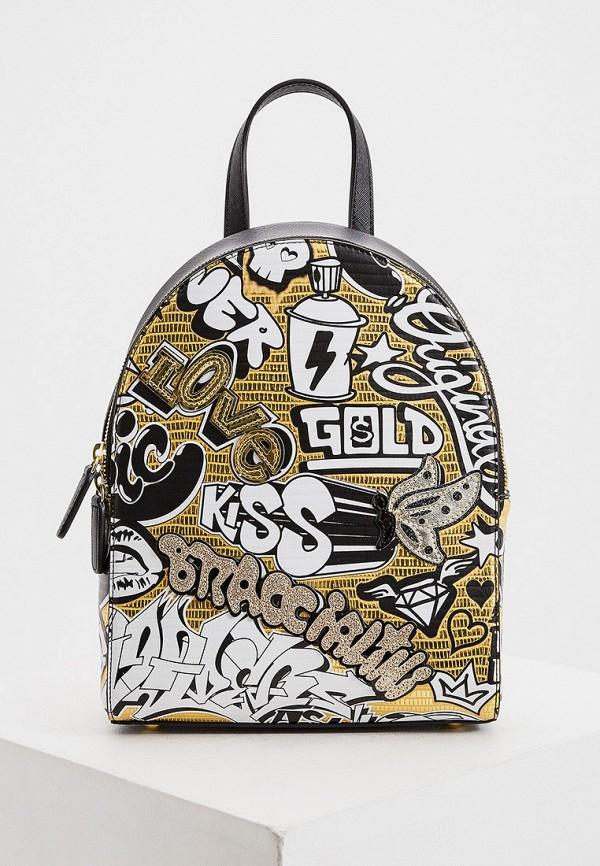 женский рюкзак braccialini, золотой