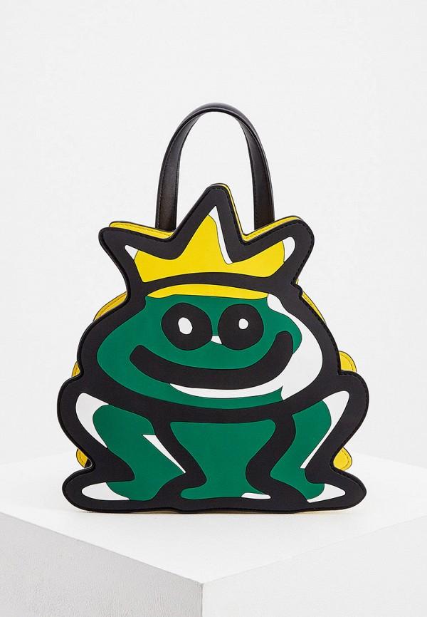 женский рюкзак braccialini, зеленый