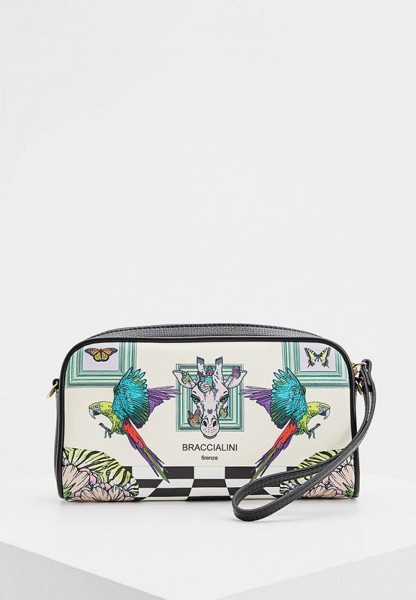 женская сумка через плечо braccialini, разноцветная