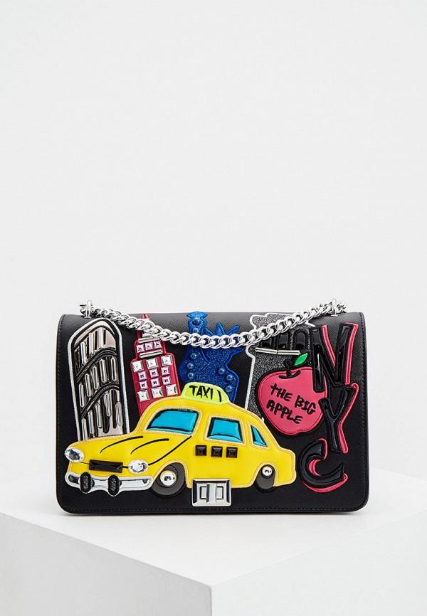женская сумка braccialini, черная