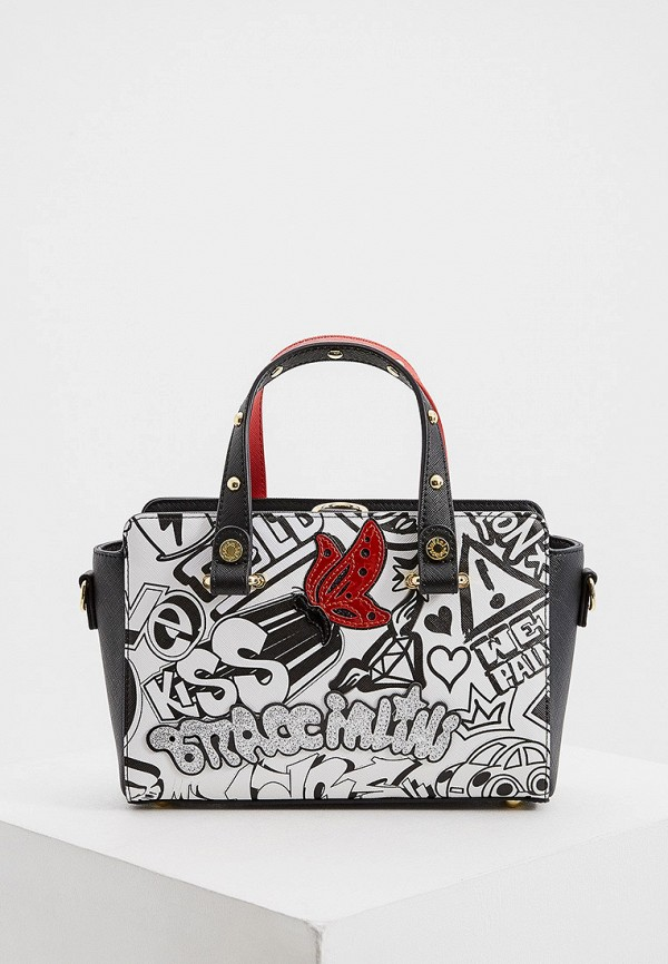 женская сумка braccialini, разноцветная
