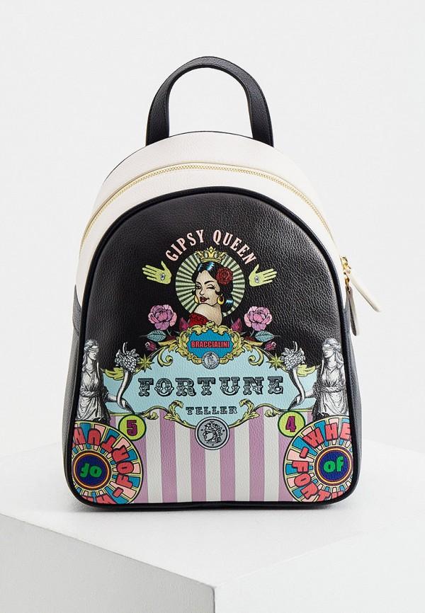 женский рюкзак braccialini, разноцветный