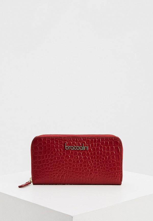 женский кошелёк braccialini, красный