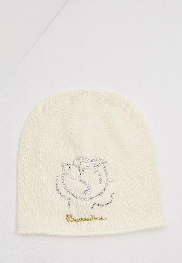 женская шапка braccialini, белая