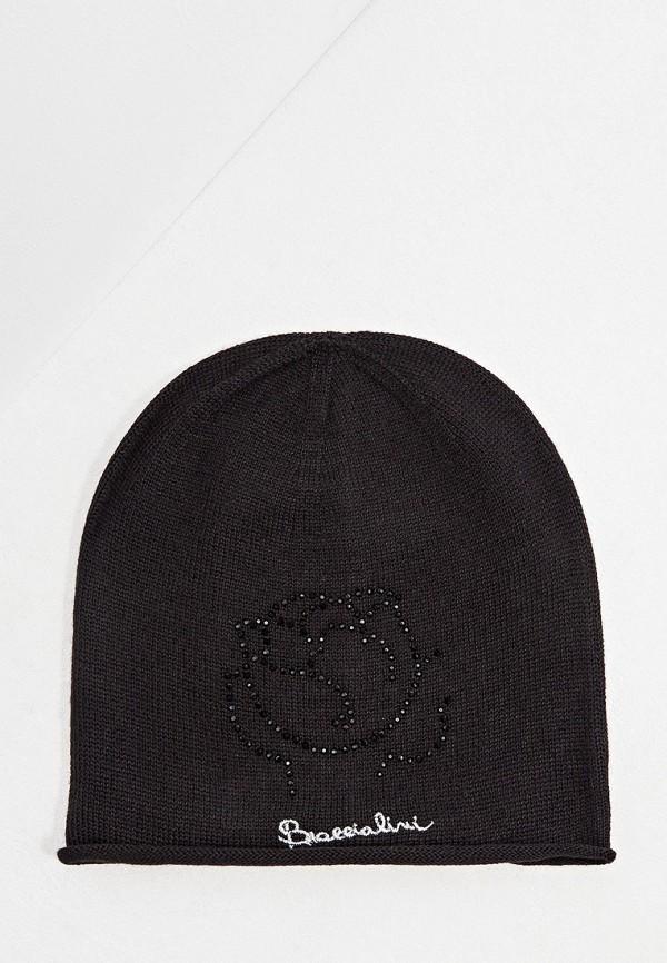 женская шапка braccialini, черная