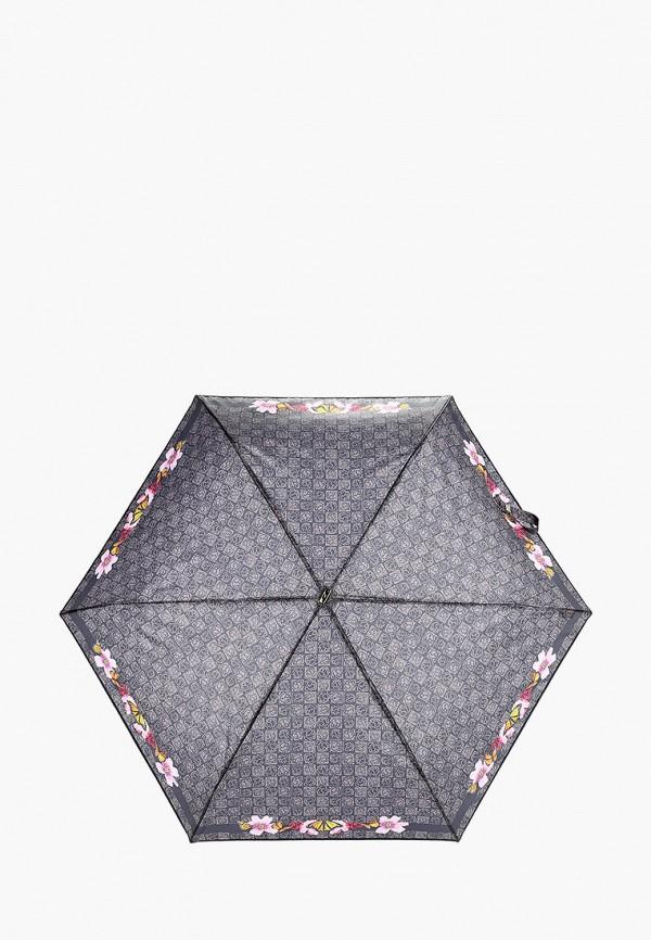 женский складные зонт braccialini, серый