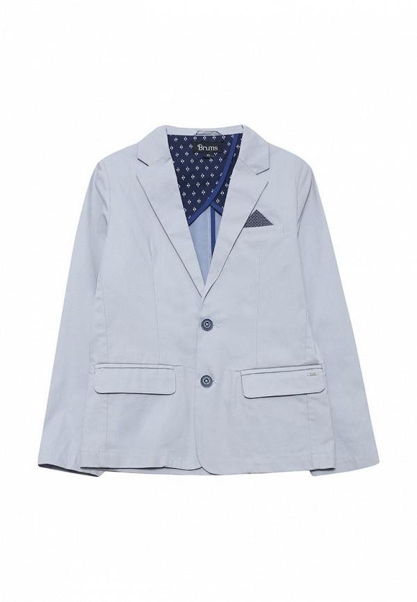 Пиджак Brums Brums BR003EBQYV43 брюки спортивные светло серого цвета brums ут 00007521