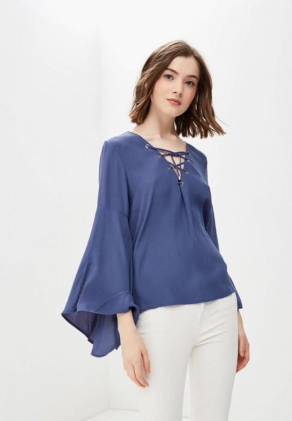 женская блузка broadway, синяя