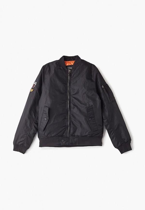 куртка brave soul для мальчика, черная