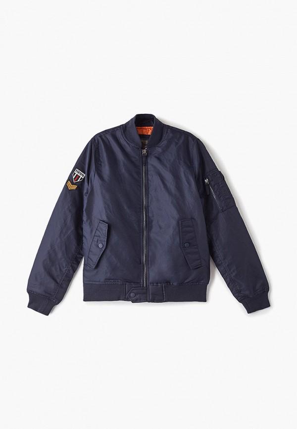 куртка brave soul для мальчика, синяя