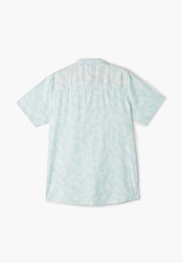Фото 2 - Рубашку Brave Soul бирюзового цвета