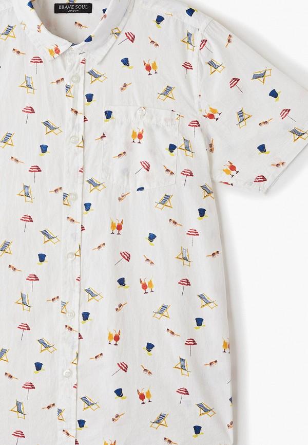 Фото 3 - Рубашку Brave Soul белого цвета