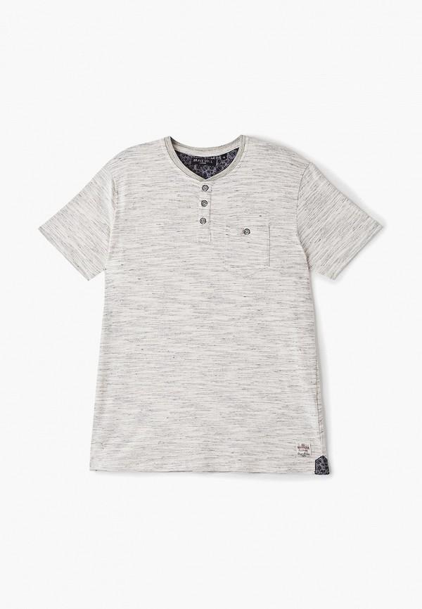 футболка с коротким рукавом brave soul для мальчика, бежевая