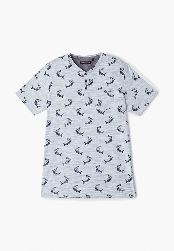 футболка с коротким рукавом brave soul для мальчика, голубая
