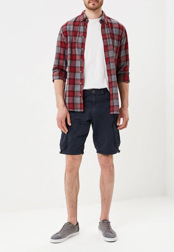 Фото 2 - мужские шорты Brave Soul синего цвета