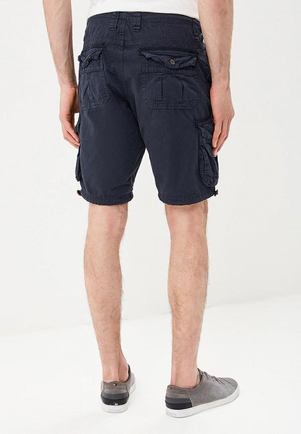 Фото 3 - мужские шорты Brave Soul синего цвета