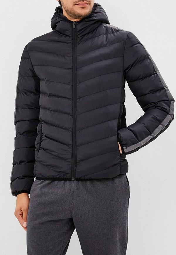 Куртка утепленная  - черный цвет