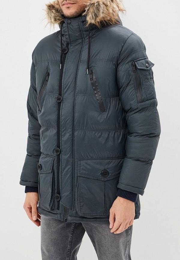 мужская куртка brave soul, серая