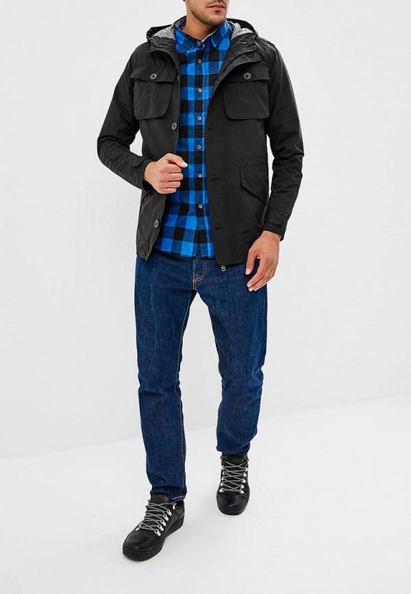 Фото 2 - мужскую куртку Brave Soul черного цвета