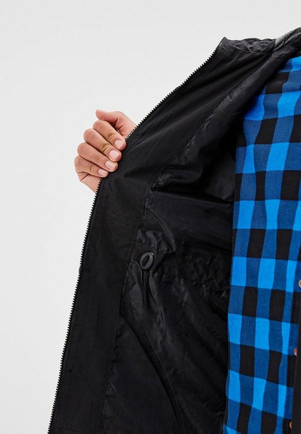 Фото 4 - мужскую куртку Brave Soul черного цвета