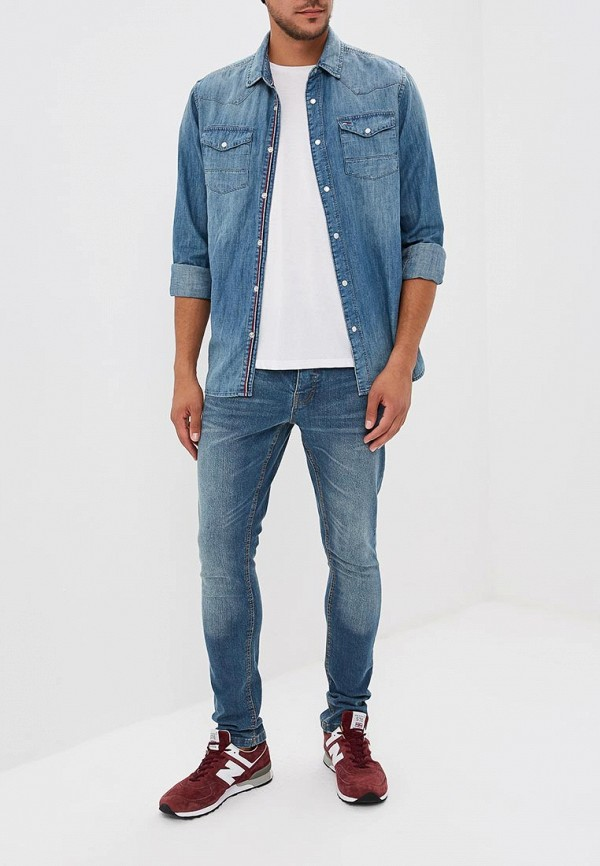 Фото 2 - мужские джинсы Brave Soul синего цвета
