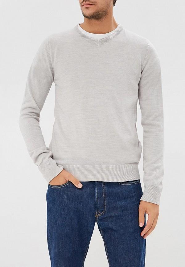 мужской пуловер brave soul, серый