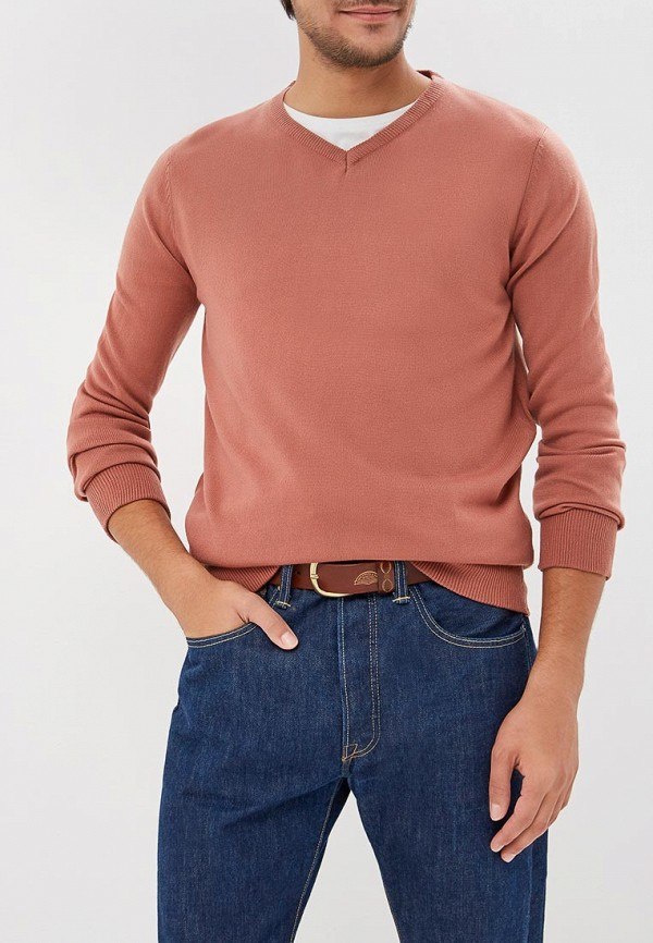 мужской пуловер brave soul, розовый
