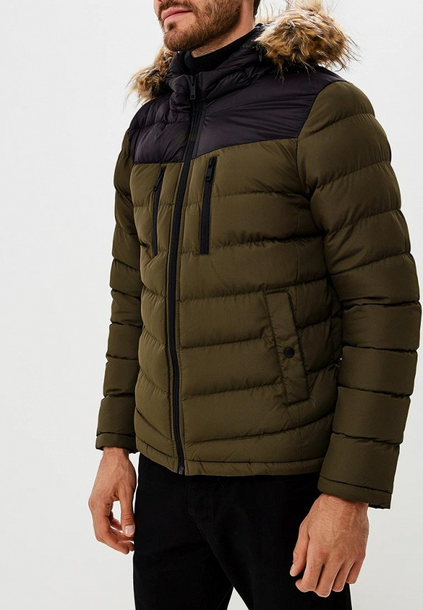 Куртка утепленная  - хаки цвет