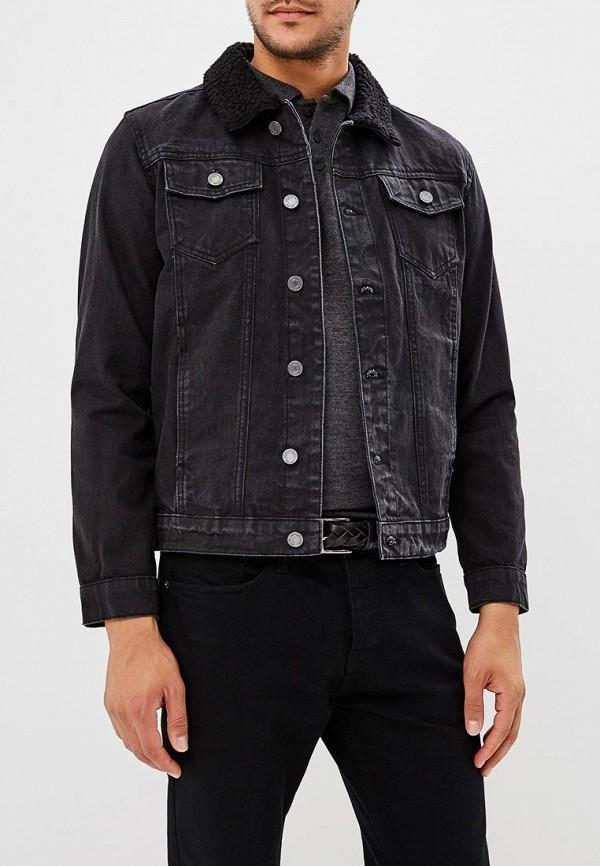Купить Куртка джинсовая Brave Soul, BR019EMBSKP2, черный, Осень-зима 2018/2019
