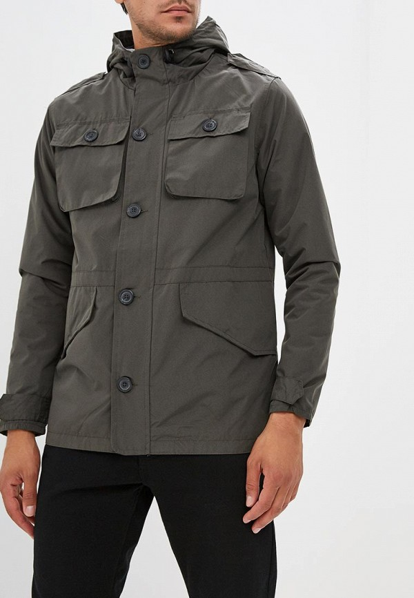 мужская куртка brave soul, хаки