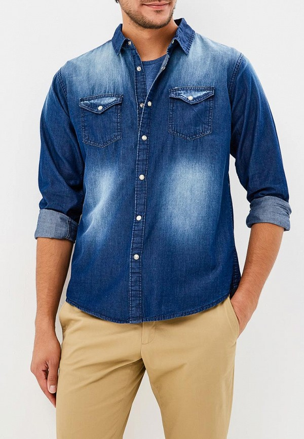 Рубашка джинсовая Brave Soul Brave Soul BR019EMBSLX5 цена