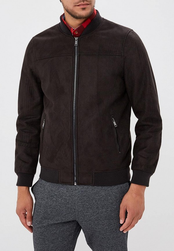 Купить Куртка кожаная Brave Soul, br019embslx9, черный, Осень-зима 2018/2019