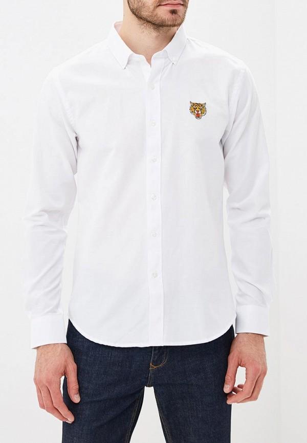 мужская рубашка с длинным рукавом brave soul, белая