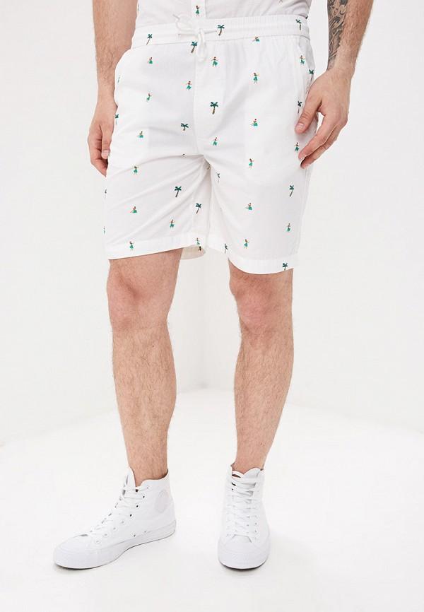 мужские повседневные шорты brave soul, белые