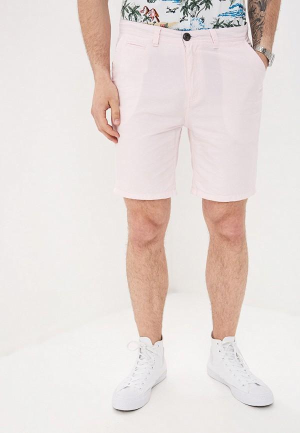 мужские повседневные шорты brave soul, розовые