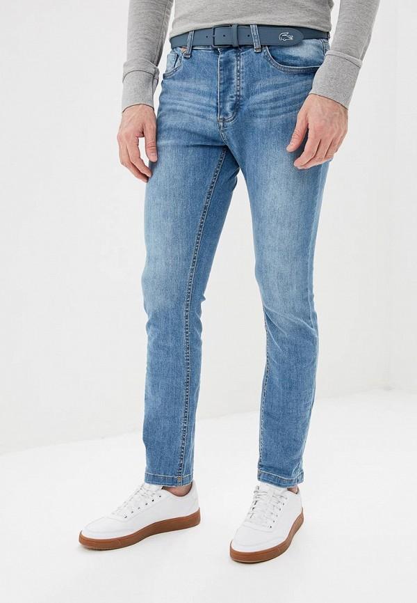 мужские зауженные джинсы brave soul, голубые