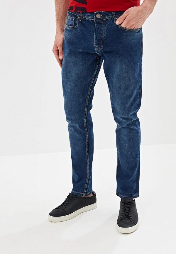 мужские зауженные джинсы brave soul, синие