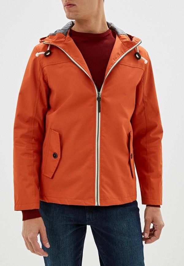 мужская куртка brave soul, оранжевая