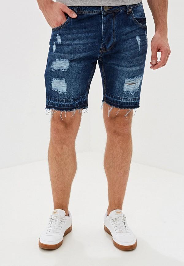 мужские шорты brave soul, синие