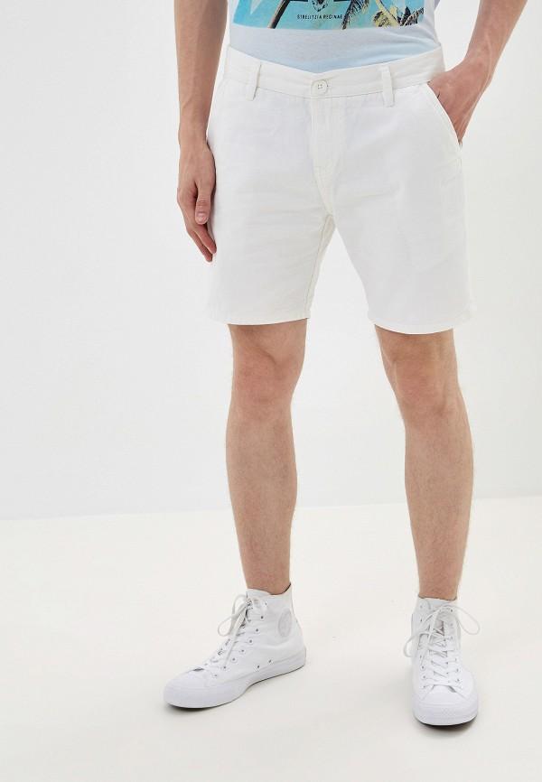 мужские джинсовые шорты brave soul, белые