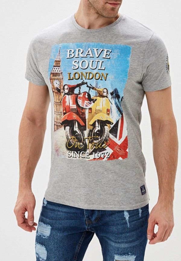 Футболка Brave Soul Brave Soul BR019EMGFZR3 цена