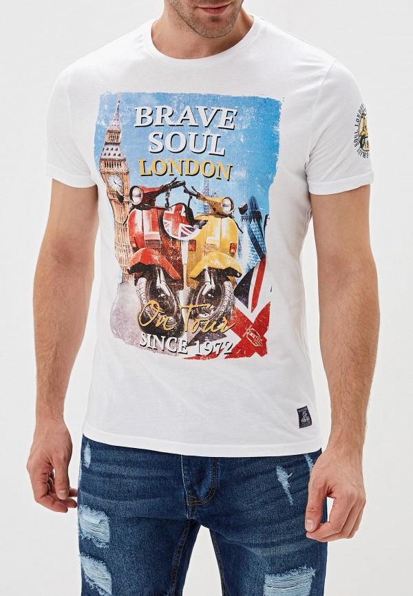Футболка Brave Soul Brave Soul BR019EMGFZR4 цена