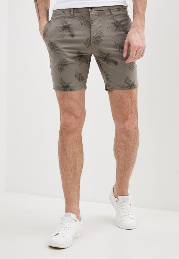 мужские повседневные шорты brave soul, серые